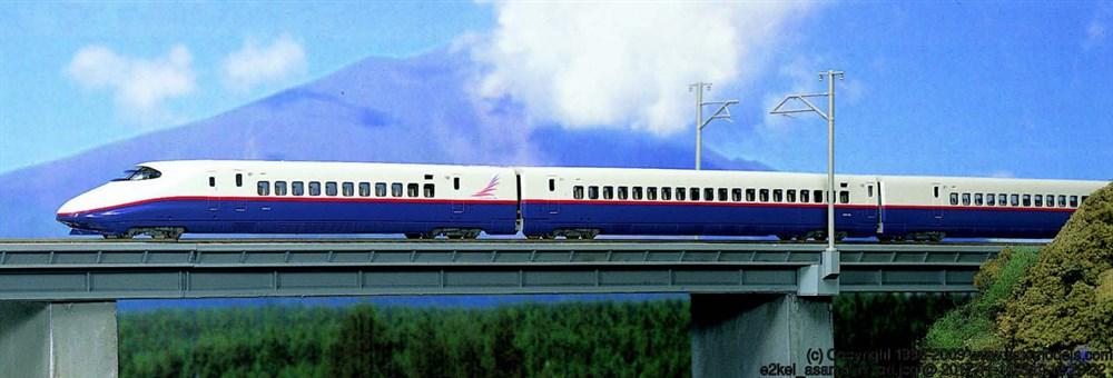 KATO Nゲージ E2系新幹線(あさま)6両基本セット 鉄道模型 10-377