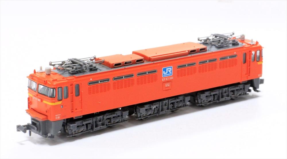 マイクロエース Nゲージ EF67-101・登場時・PS17 鉄道模型 A0243