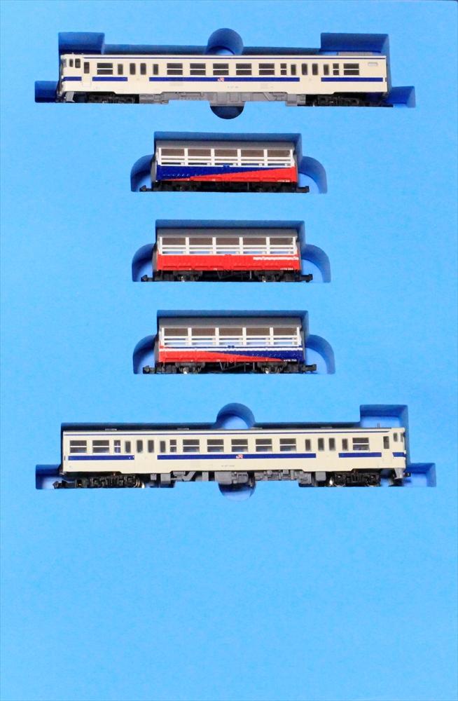 マイクロエース Nゲージ キハ47+三角線トロッコ列車 5両セット 鉄道模型 A1466
