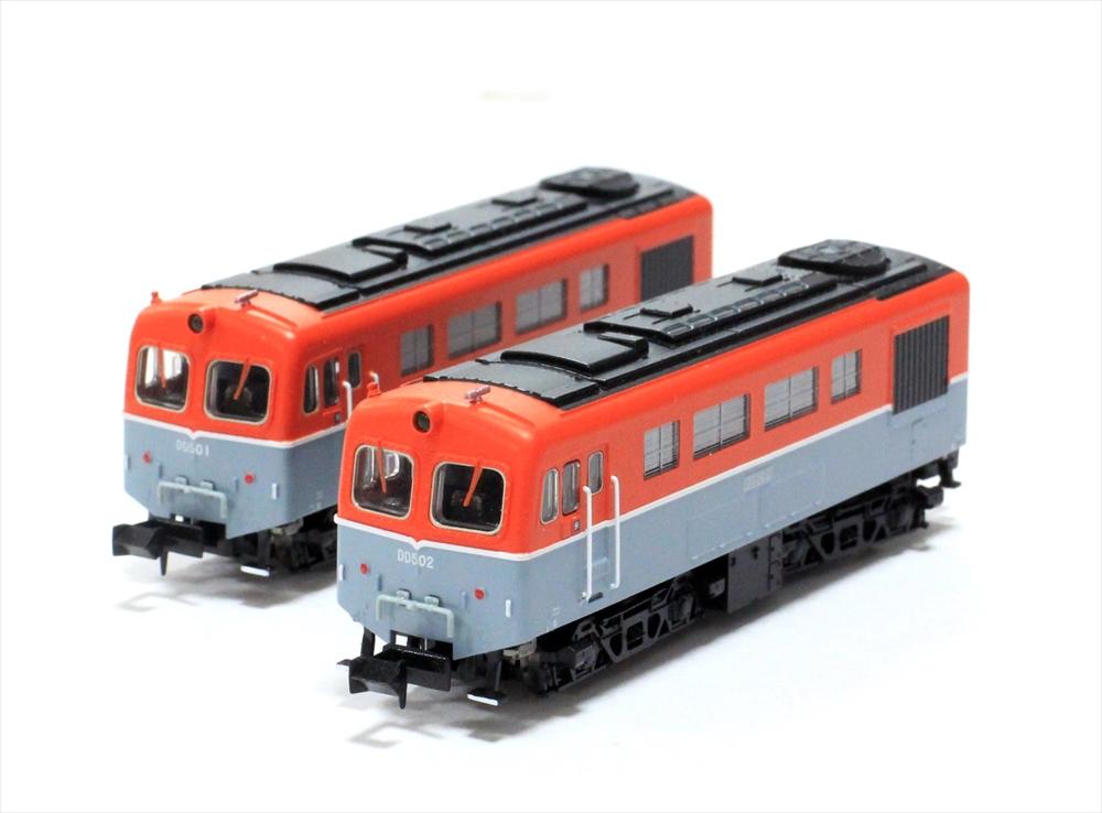 マイクロエース Nゲージ DD50・1次型 重連セット 鉄道模型 A8908