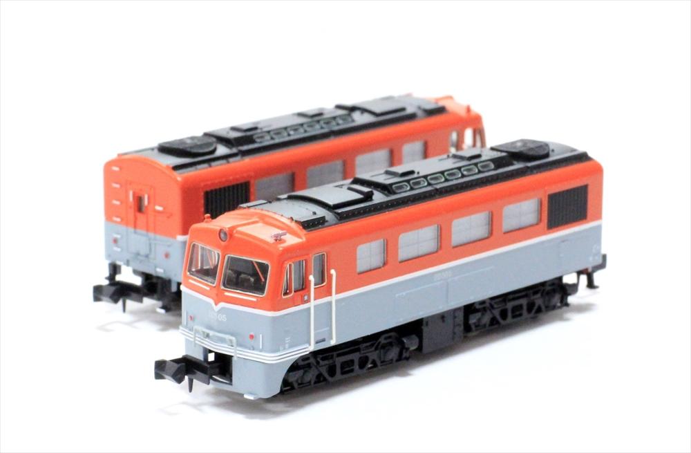 マイクロエース Nゲージ DD50・2次型 重連セット スノープラウなし 鉄道模型 A8909