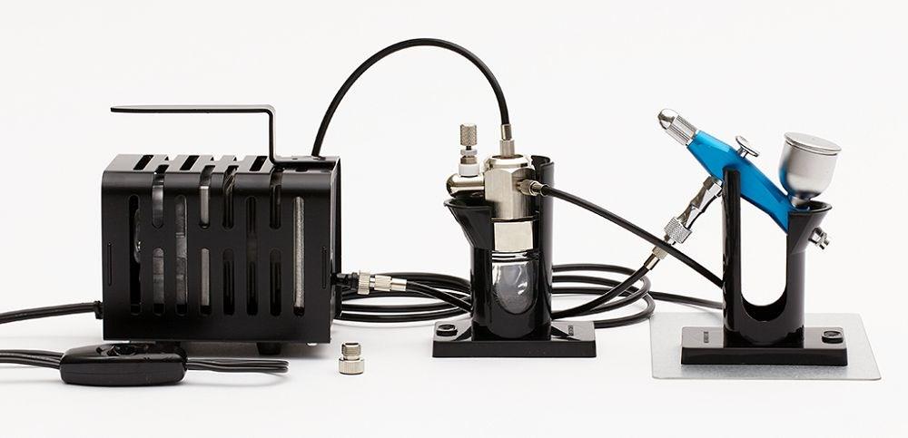 GSIクレオス Mr.リニアコンプレッサー クロプチ/プロコンBOY SQアルミ製軽量版(スカイブルー)セット 模型用グッズ PS-404B