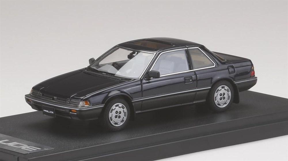 MARK43 1/43 ホンダ プレリュード XX (AB1) 1989 ミッドナイトブルーメタリック 完成品ミニカー PM4354BL