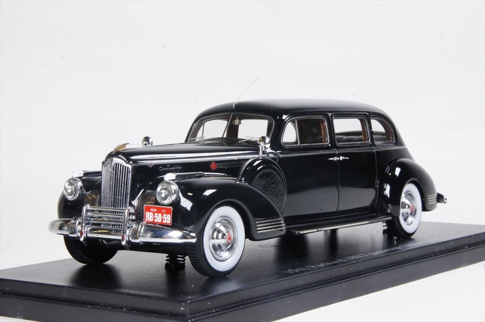 ミニカー 直輸入品 ESVAL MODELS (EMUSPA43001A) 1/43 1941 PACKARD 180 7-Passenger Limousine ブラック