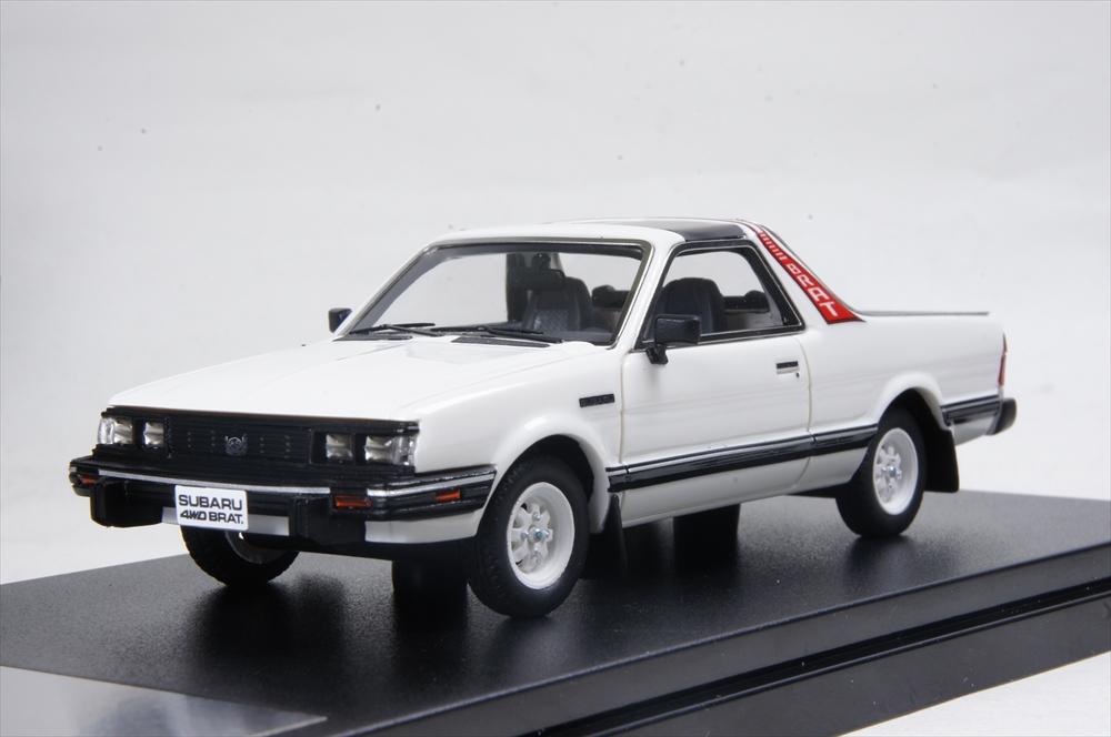 【日本産】 ハイストーリー 1 1/43/43 スバル スバル ブラット GL 1984 ホワイト GL 完成品ミニカー HS177WH, 家具雑貨ecrin:10646570 --- canoncity.azurewebsites.net