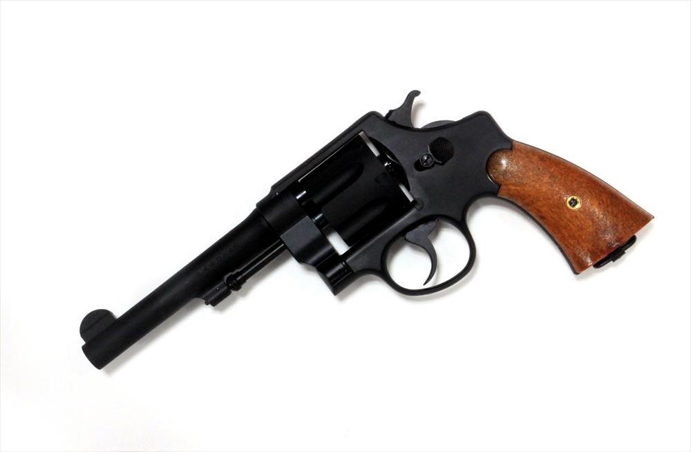 タナカ スミス&ウェッソン M1917 CAL.45 U.S.ミリタリー5.5インチ ヘビーウェイト モデルガン 4537212004817