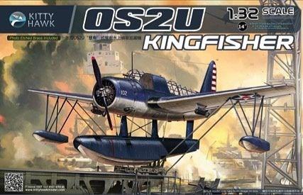 キティホークモデル 1/32 ヴォート OS2U キングフィッシャー 観測機 スケールプラモデル KITKH32016
