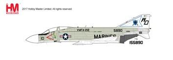 ホビーマスター 1/72 F-4J ファントムII