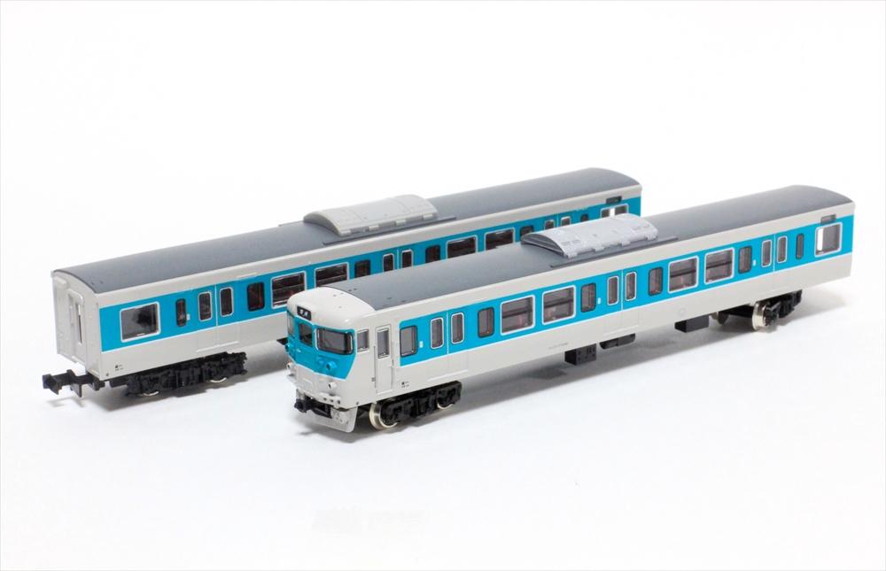 グリーンマックス Nゲージ完成品 JR113系7700番台(40N体質改善車・小浜線色・W1編成)4両編成セット(動力付き) 鉄道模型 30643