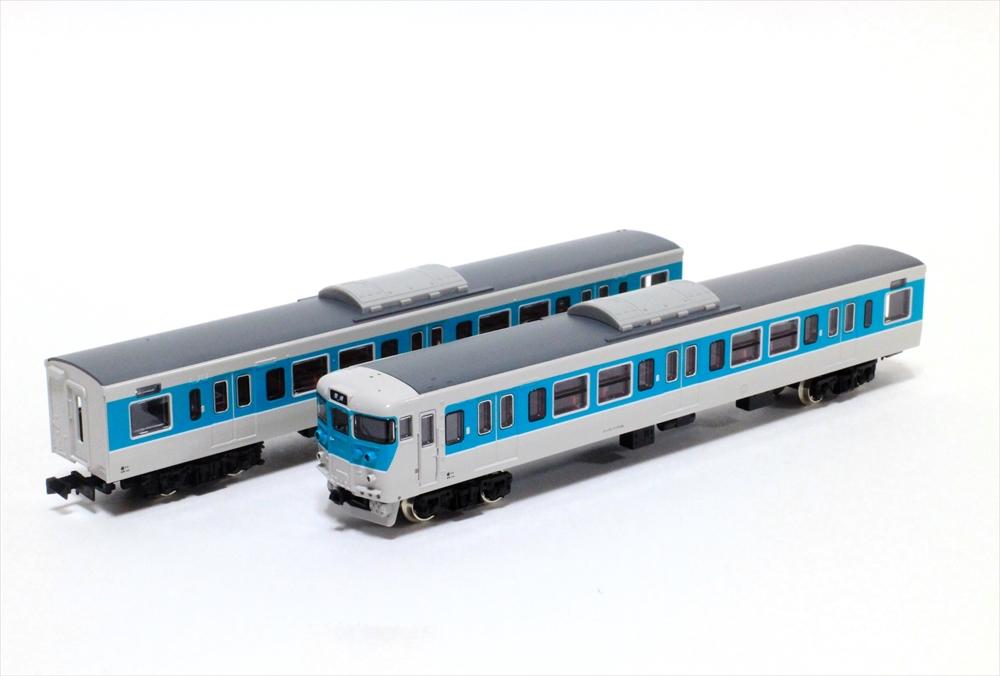 グリーンマックス Nゲージ完成品 JR113系7700番台(40N体質改善車・小浜線色・W3編成)4両編成セット(動力付き) 鉄道模型 30644