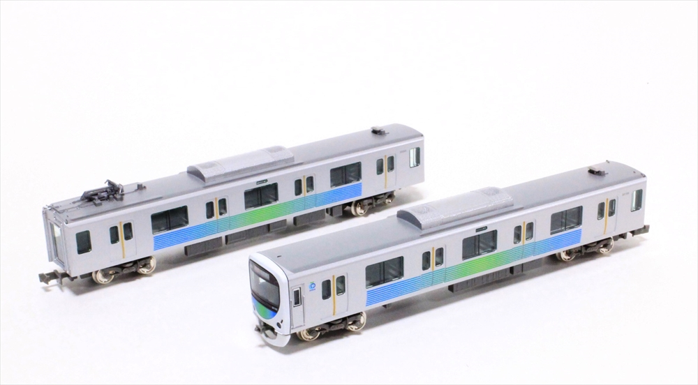 グリーンマックス Nゲージ完成品 西武30000系(新宿線・30105編成) 4両増結用中間車セット(動力無し) 鉄道模型 30650