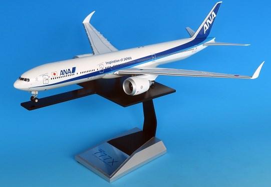 全日空商事 1/200 777-9X ANA 地上折りたたみ翼 完成品ソリッド(ギアつき) 完成品 艦船・飛行機 NH20100