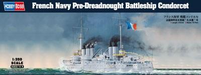 ホビーボス 1/350 フランス海軍 戦艦コンドルセ スケールプラモデル 86505