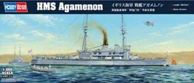 ホビーボス 1/350 イギリス海軍 戦艦アガメムノン スケールプラモデル 86509