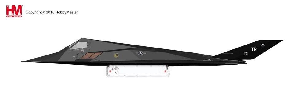 ホビーマスター 1/72 F-117 ナイトホーク 砂漠の嵐作戦 完成品 艦船・飛行機 HA5801