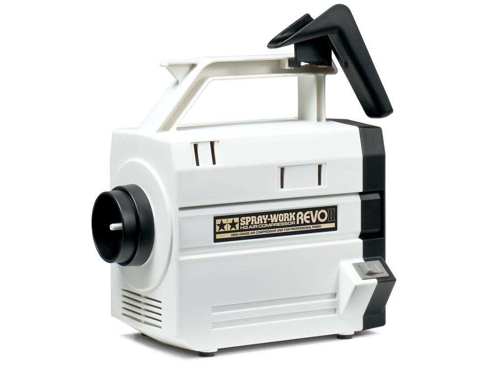タミヤ スプレーワークHGコンプレッサーレボ 模型用グッズ 74542