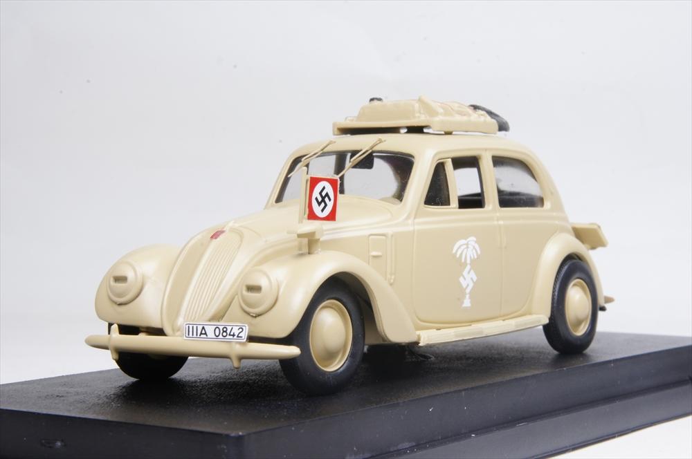 【正規通販】 リオ 1/43 1/43 1941 フィアット 1500 ドイツ軍 アフリカ仕様 1941 完成品ミニカー ドイツ軍 RIO4551, イツワマチ:f554f026 --- clftranspo.dominiotemporario.com