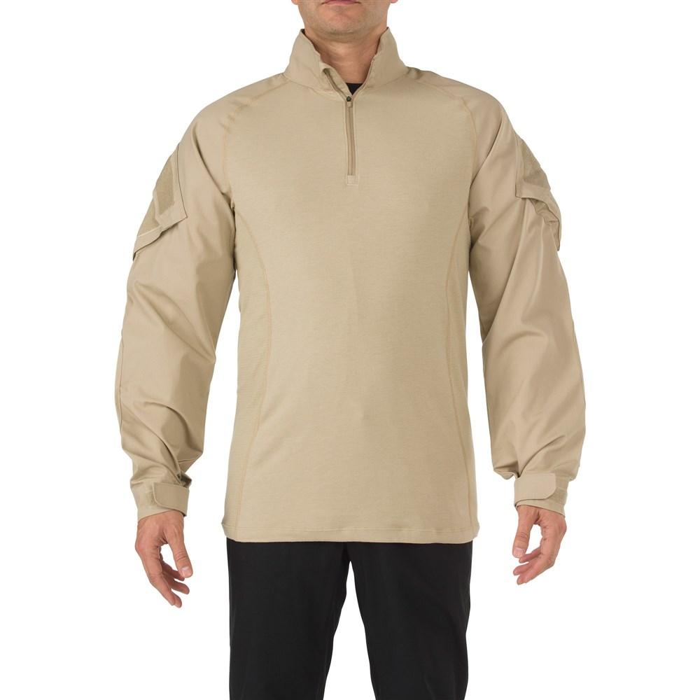 5.11タクティカル ラピッド アサルト シャツ カラー:TDU カーキ サイズ:XS ミリタリー 72194