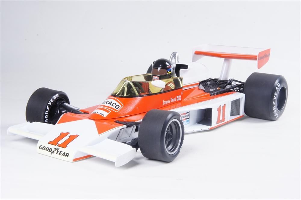ミニチャンプス 1/18 マクラーレン フォード M23 1976 F1 ワールドチャンピオン ジェームス・ハント 完成品ミニカー 186760011