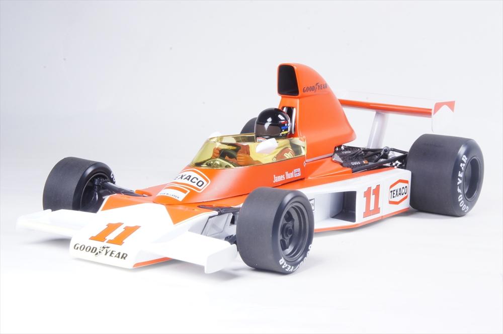 ミニチャンプス 1/18 マクラーレン フォード M23 1976 F1 南アフリカGP J.ハント 完成品ミニカー 530761831