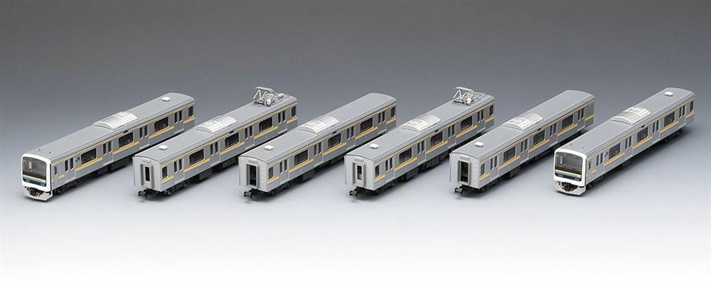 トミックス Nゲージ JR 209-2100系通勤電車(房総色・6両編成)セット 鉄道模型 98628