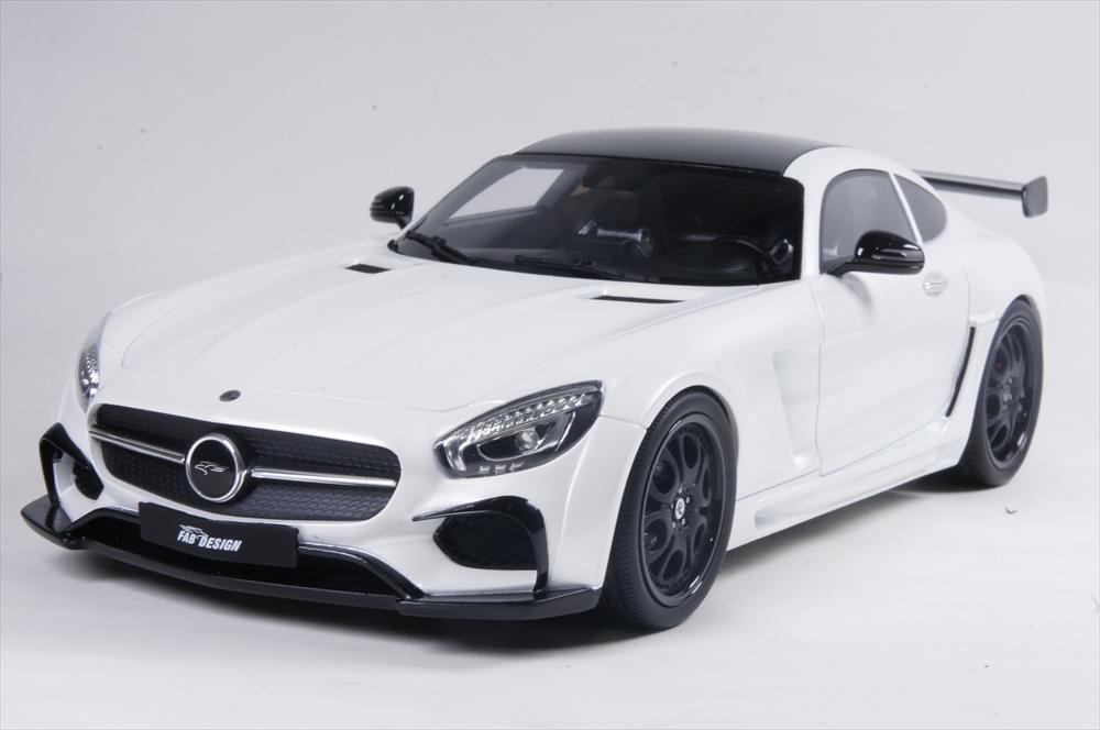 GTスピリット 1/18 FAB アレイオン ホワイト世界限定 999個 完成品ミニカー GTS157