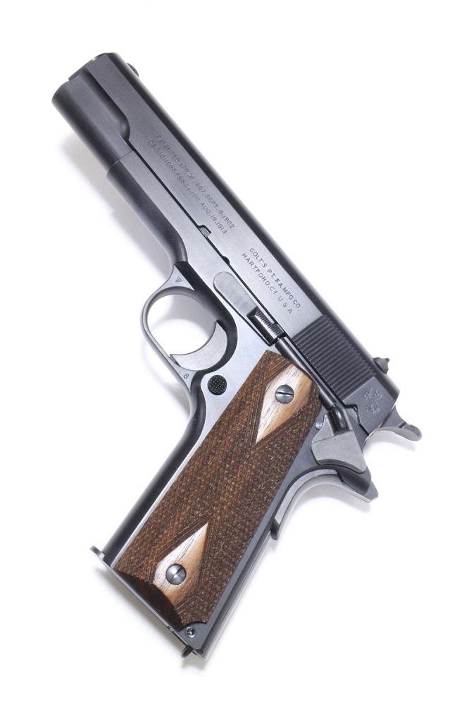 六研/エラン発火式 コルト M1911 コマーシャル(ケーシー・ライバック モデル)DUOブローバックモデル 「暴走特急」より モデルガン 109005935000