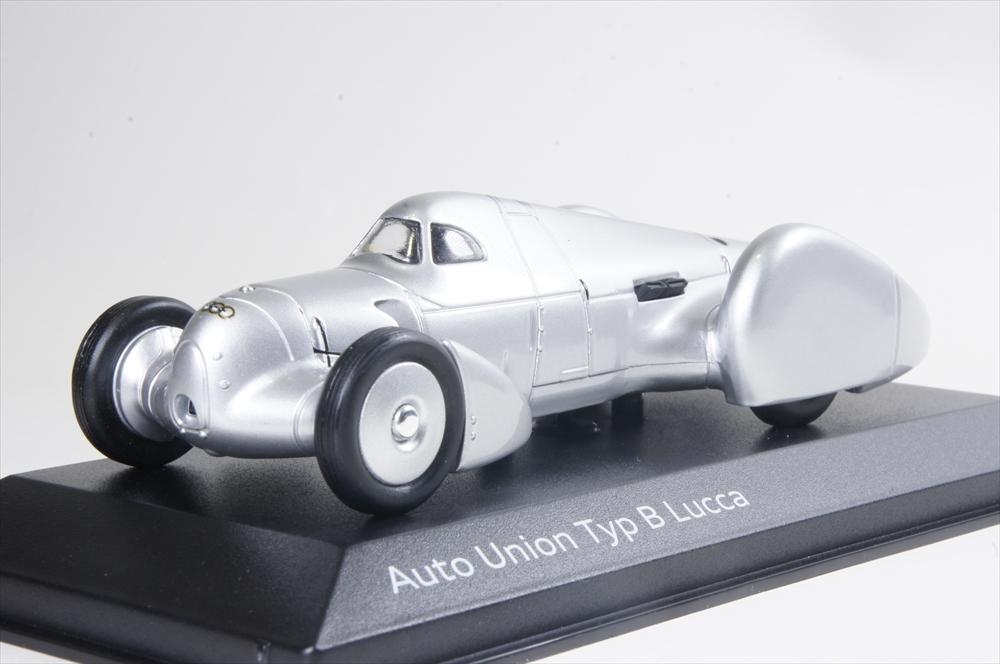 ミニカー 1/43 アウディ特注/ミニチャンプス Audi/MINICHAMPS(5031300413) アウトユニオン タイプB ルッカ 1935年 シルバー