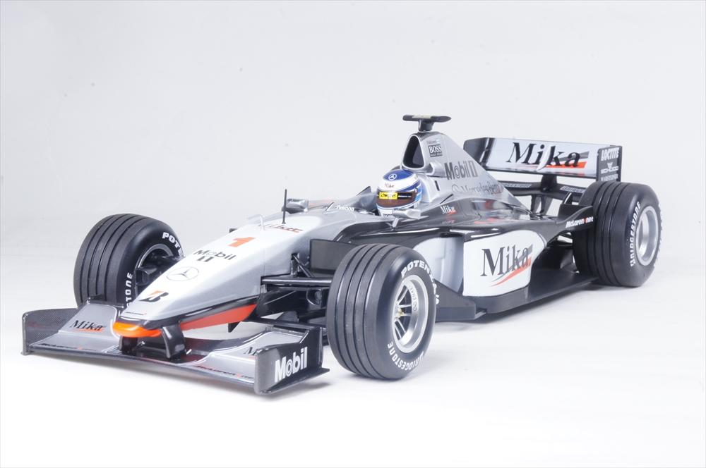 ミニチャンプス 1/18 マクラーレン メルセデス MP4/14 1999 F1 ワールドチャンピオン M.ハッキネン 完成品ミニカー 186990001