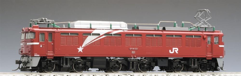 トミックスHOゲージJREF81形電気機関車(133号機?北斗星色)プレステージモデル鉄道模型HO-169