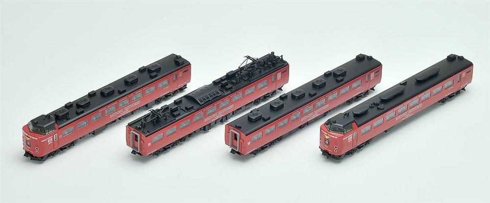 トミックス Nゲージ JR 485系特急電車(MIDORI EXPRESS)セットB 鉄道模型 98251