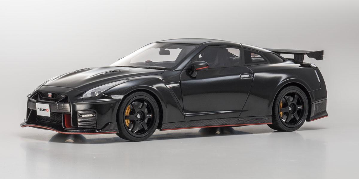 ミニカー GTスピリット (GTS015KJ) 1/18 日産 GT-R ニスモ 2017(ブラック)