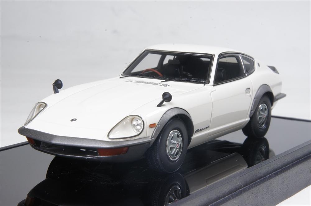 ヴィジョン1/43 ニッサン フェアレディ 240ZG (HS30H) 1971 ホワイト 完成品ミニカー VM124B