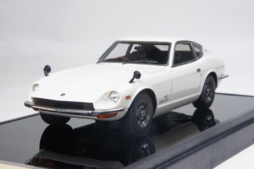 ヴィジョン1/43 ニッサン フェアレディ Z432(PS30) 1969 グランプリホワイト 完成品ミニカー VM119E