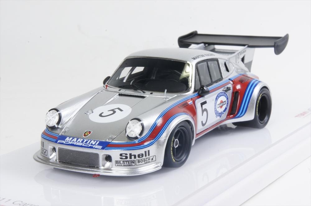 トゥルースケール 1/43 ポルシェ 911 カレラ RSR ターボ No.5 1974 ブランズハッチ 1000km 完成品ミニカー TSM430154