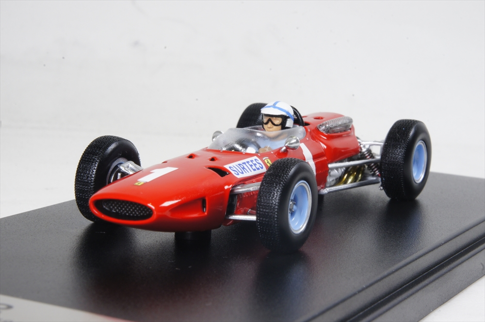 土日出荷可能 ルックスマート 新商品!新型 フェラーリ 1512 No.1 3rd 1965 LSRC13 F1 1 イギリスGP 43 完成品ミニカー 人気ブランド多数対象 J.サーティス