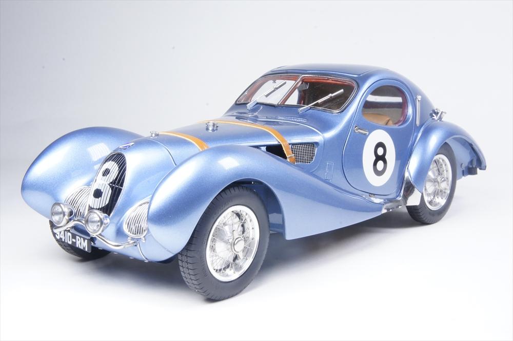 "CMC1/18 タルボラーゴ クーペ T150 C-SS Figoni&Falaschi ""Teardrop"" No.8 レーシングVer. 1937-39 ル・マン24時間 完成品ミニカー M-167"