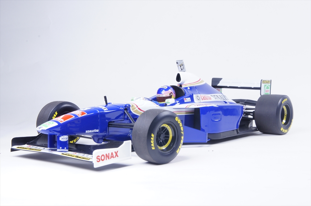ミニチャンプス1/18 ウィリアムズ ルノーFW19 1997 F1 ワールドチャンピオン J.ビルニューブ 完成品ミニカー 186970003