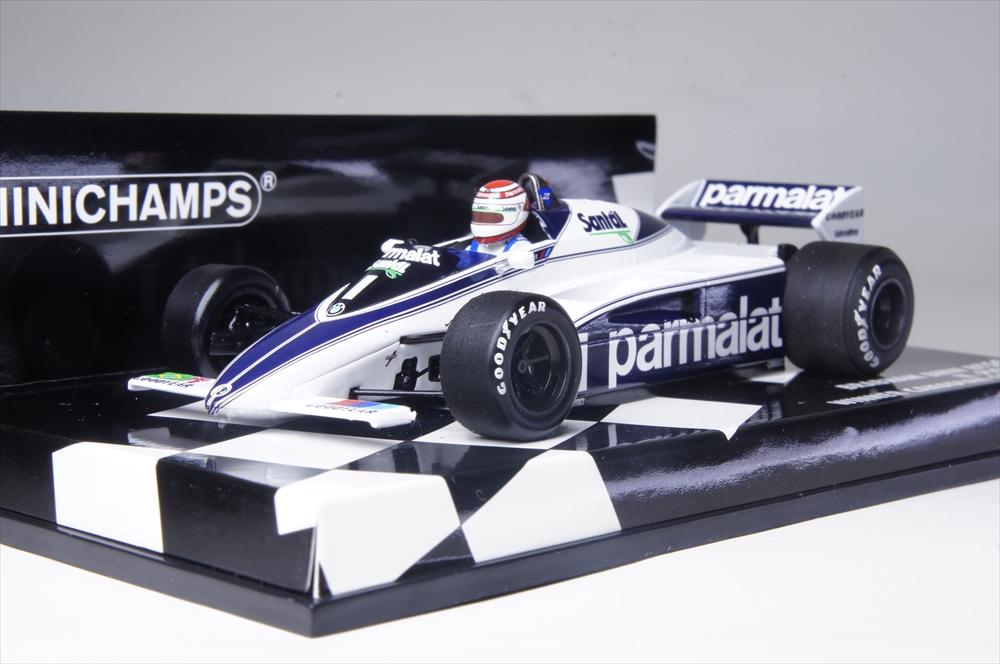 ミニチャンプス1/43 ブラバム BMW BT50 1982 F1 N.ピケ 完成品ミニカー 417820001