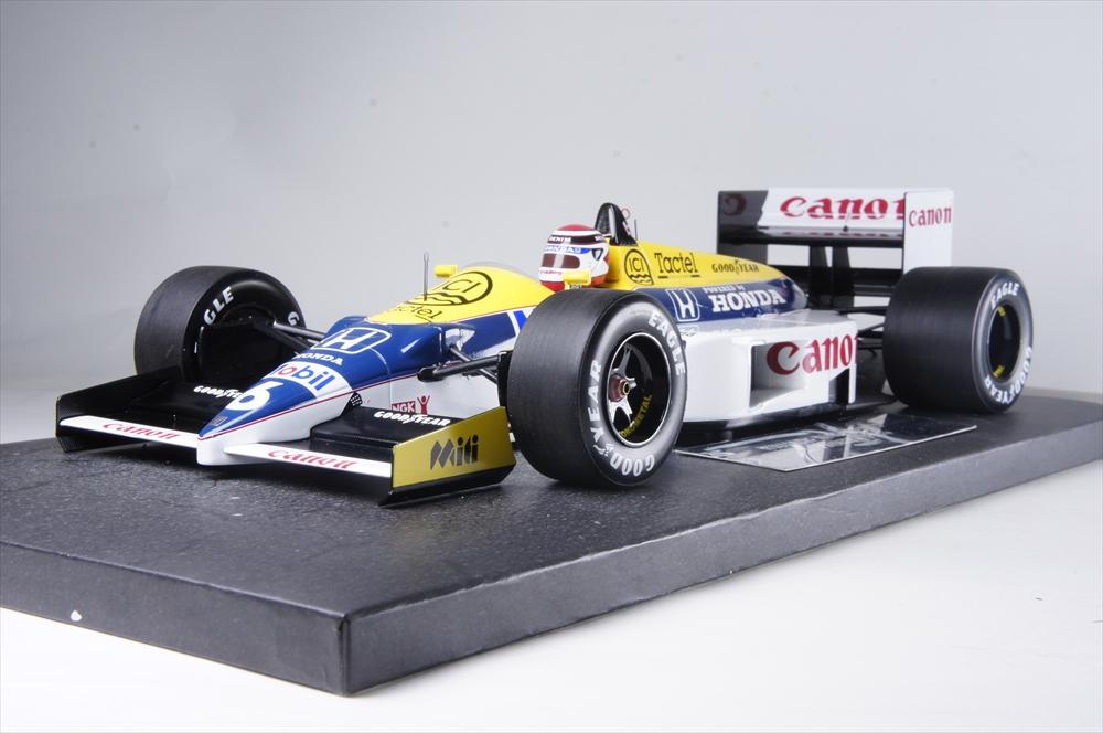 117860006 ウィリアムズ 完成品ミニカー ホンダ ネルソン・ピケ ミニチャンプス1/18 1986 FW11