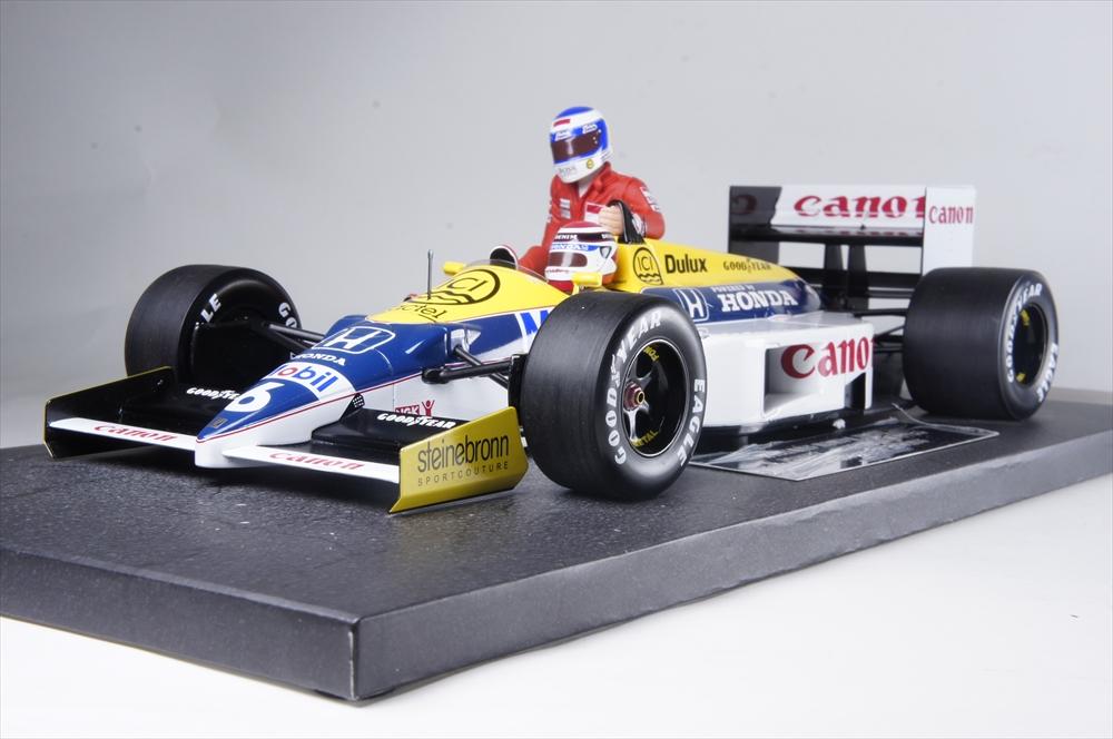 ミニチャンプス1/18 ウィリアムズ ホンダ FW11 1986 F1 ドイツGP K.ロズベルグ 完成品ミニカー 117860106