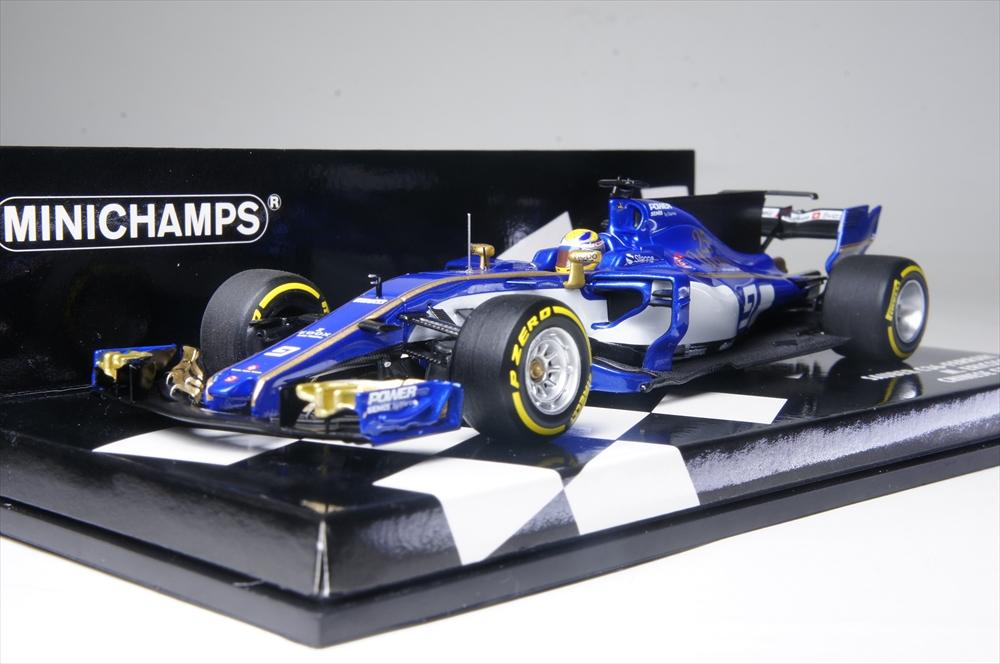ミニチャンプス1/43 ザウバー F1 チーム フェラーリ C36 No.9 2017 F1 M.エリクソン 完成品ミニカー 417170009