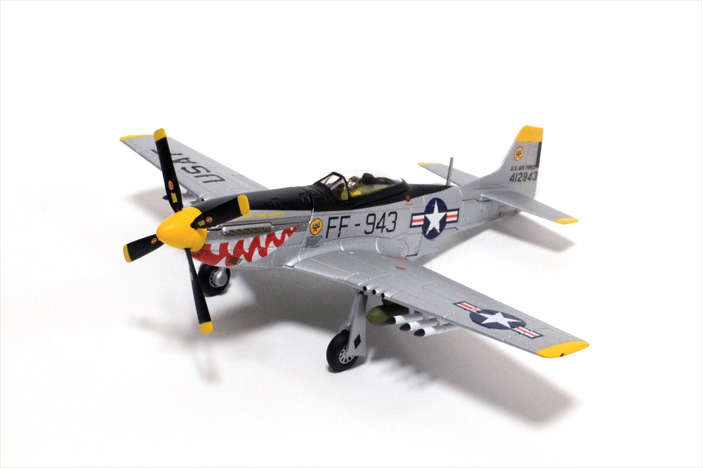 コーギー1/72 北米 F-51D マスタング 44-12943/FF-943 'Was that too fast' 完成品 艦船・飛行機 CGAA27702