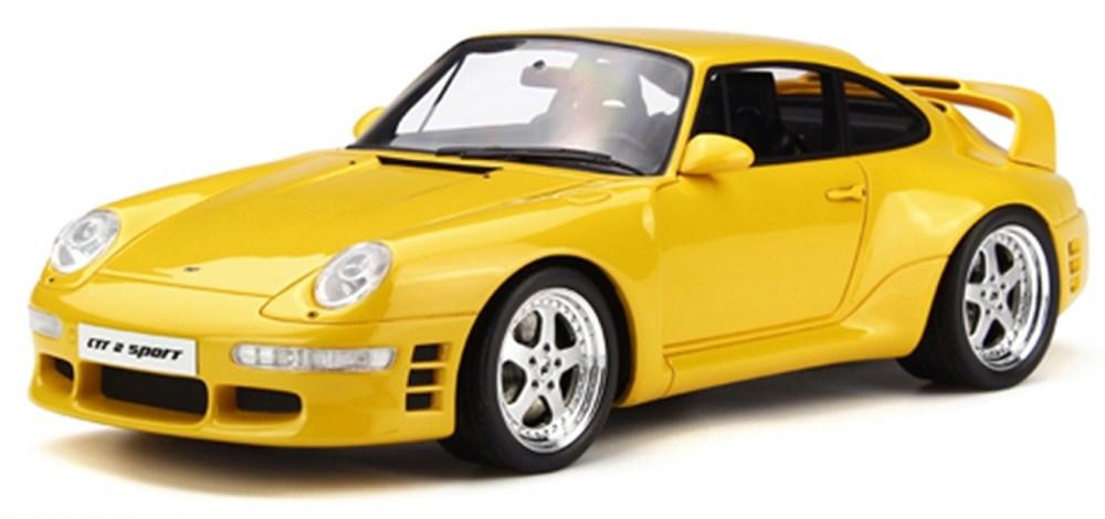 GTスピリット1/18 ルーフ CTR 2 スポーツ イエロー 完成品ミニカー GTS141