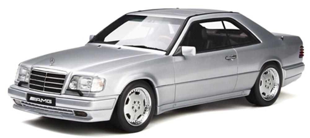オットーモビル1/18 メルセデスベンツ C124 E36 AMG シルバー 完成品ミニカー OTM731