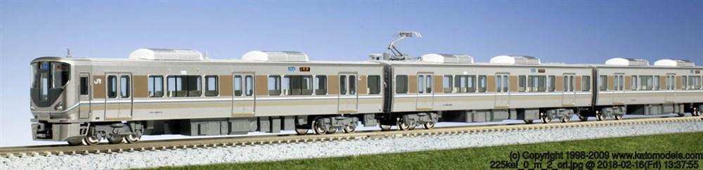 KATO Nゲージ 225系0番台 「新快速」 8両セット 鉄道模型 10-871