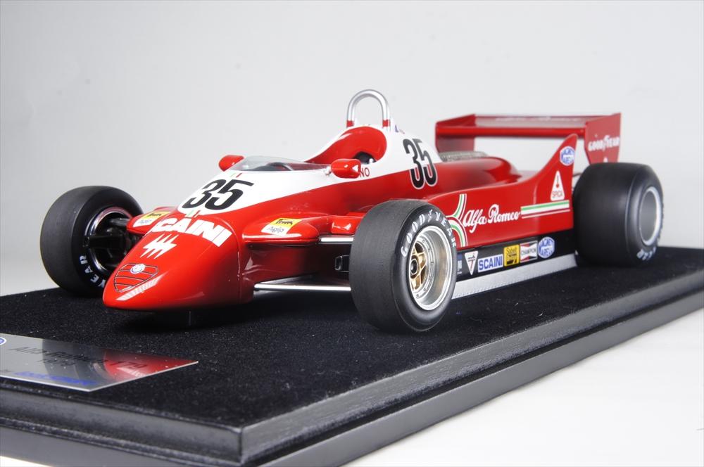 1/18 アルファロメオ 179 No.35 1979 F1 B.ジャコメリ ケース付
