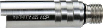 アンビル ガスガン 東京マルイ1911シリーズ用 ステンレス チャンバーカバー INFINITY 45 ACP シルバー トイガンパーツ TM-M-18SS