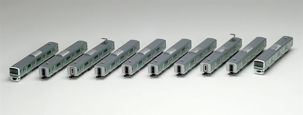 トミックスNゲージ 限定品 JR E231-0系通勤電車(常磐線・松戸車両センター118編成)セット 鉄道模型 98966