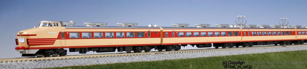 KATONゲージ 181系100番台(とき・あずさ) 基本(6両) 鉄道模型 10-1147